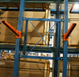 Cantilever Rack X Bracing For Lumber Storage